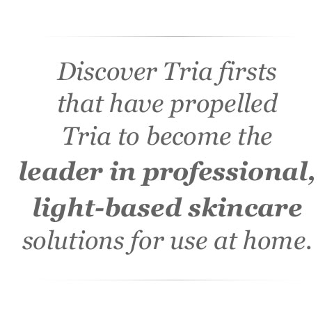 Tria Beauty's first office